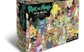 Релиз Настольной игры Rick and Morty: Total Rickall Card Game