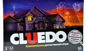Настольная игра Cluedo (Клуэдо)