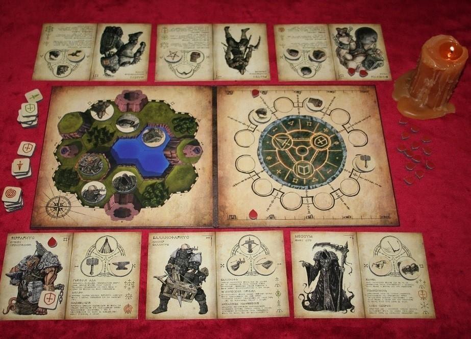 Поле и карты Бестиарий
