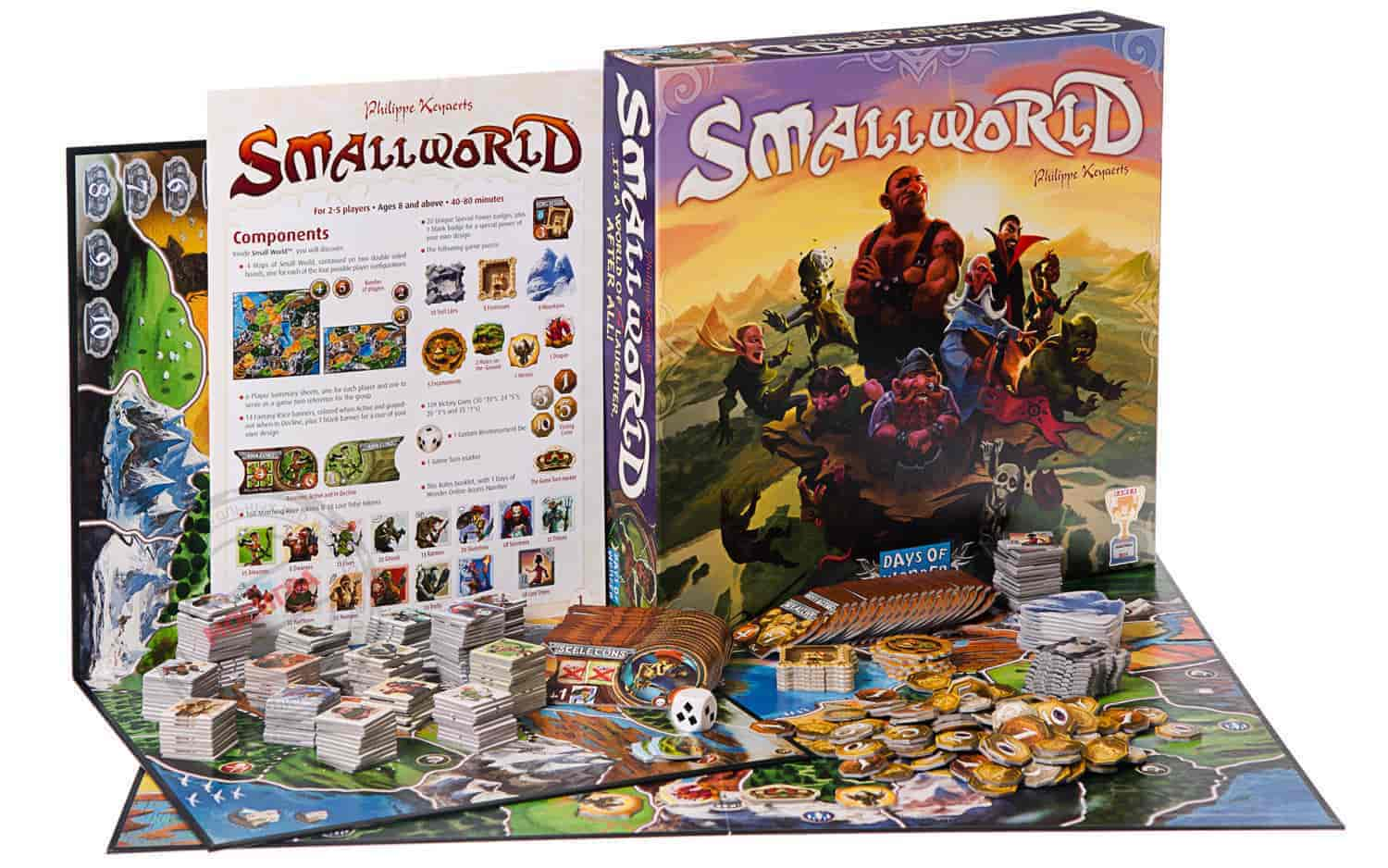 Small World комплектация